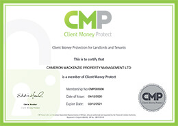 Client Money Protect Membership Certificate